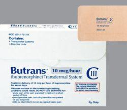 Butrans Transdermal Film ER 20mcg