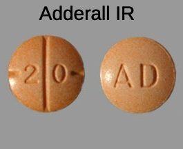 Buy Adderall 20mg immediate release