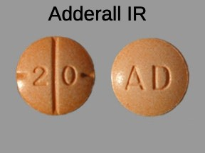 Buy Adderall 20mg immediate release