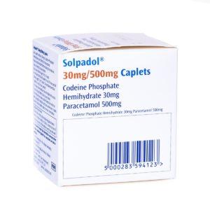 Buy Solpadol 30mg 500mg online